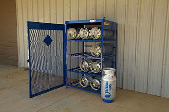 Forklift Cylinder Exchange Freeman Gas
