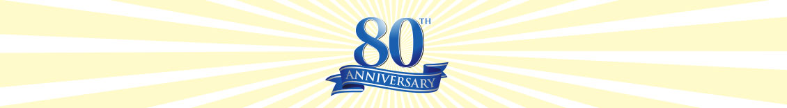 Save with our 80th anniversary specials!