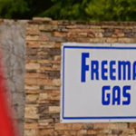 Freeman Gas sign